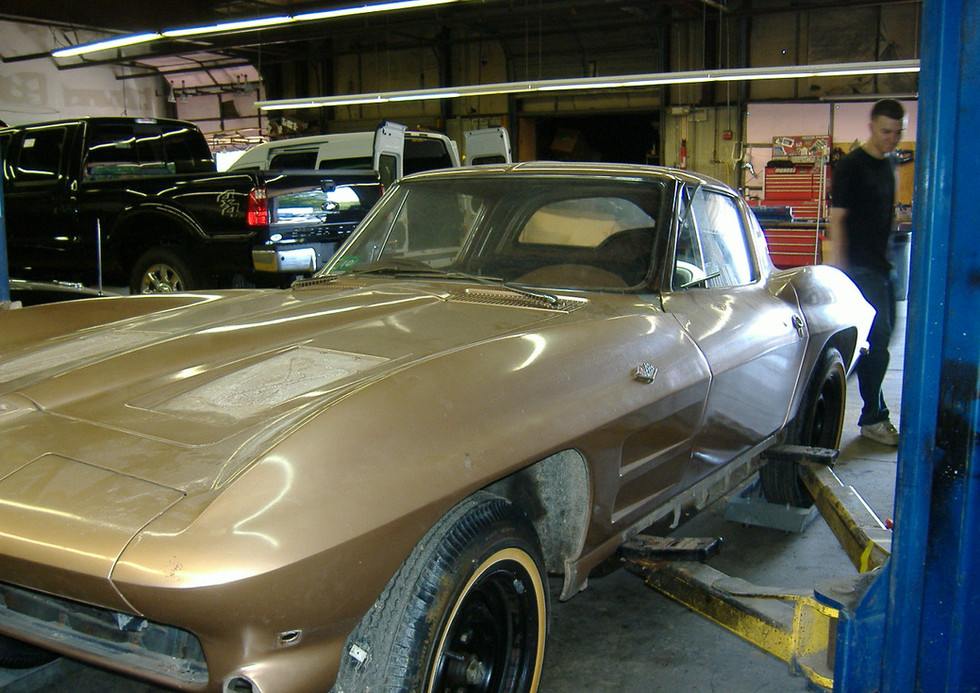 1 Family owned 63 Coupe for a Complete restoration