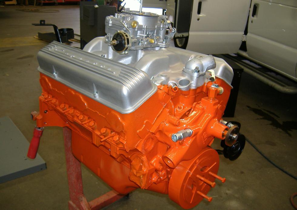Restored engine