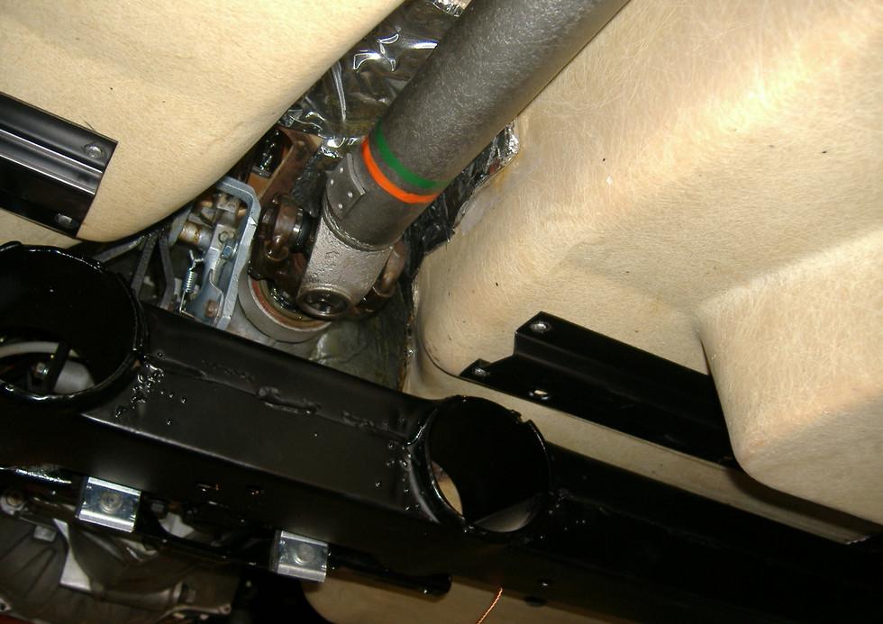 Under side details