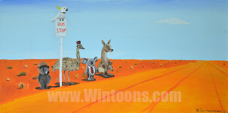 The Outback Bus Stop