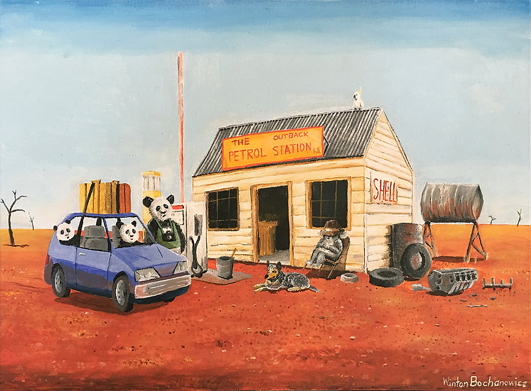 The Outback Petrol Station
