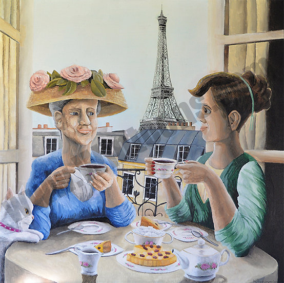 Tea Time in Paris