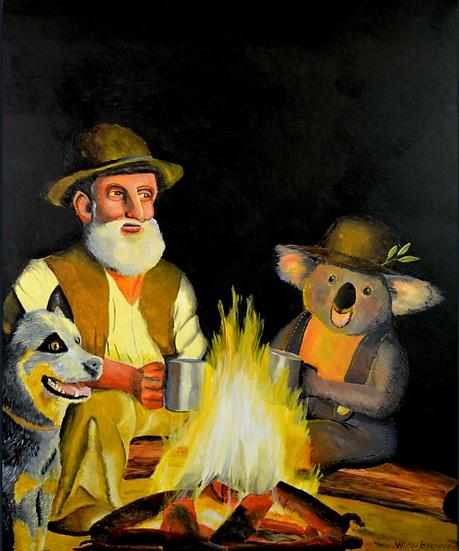 The Swagman and his Koala