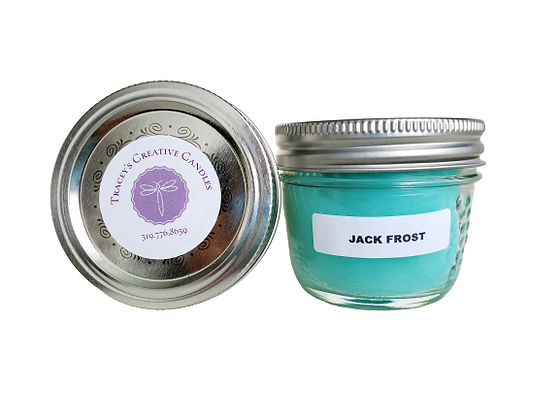 Jack Frost Candle - small