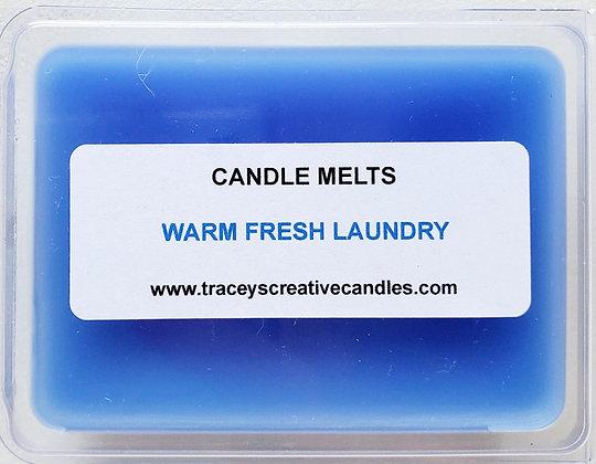 Warm Fresh Laundry Melts