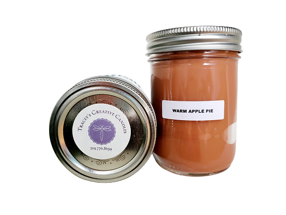 Warm Apple Pie Candle - large