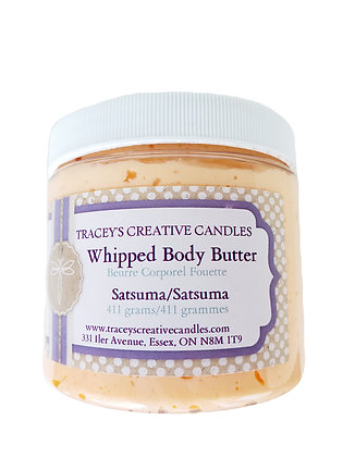 Satsuma Whipped Body Butter - Large