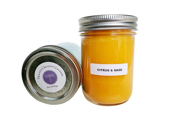 Citrus & Sage Candle - large
