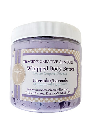 Lavender Whipped Body Butter - Large