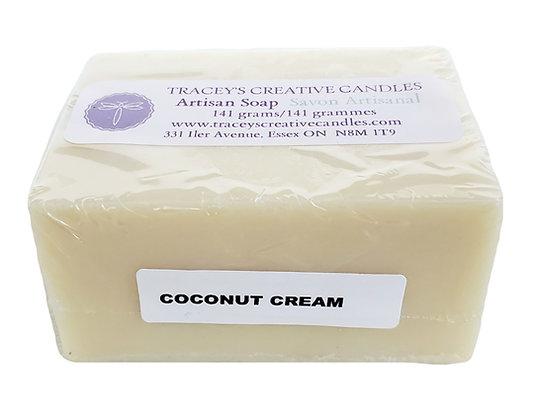 Coconut Cream Artisan Soap