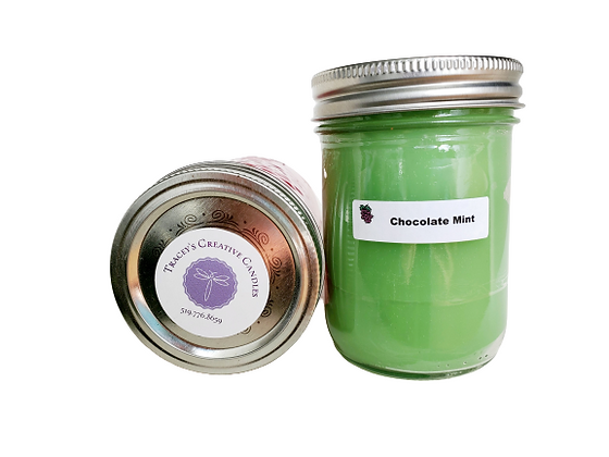 Chocolate Mint Candle - large