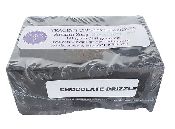 Chocolate Drizzle Artisan Soap
