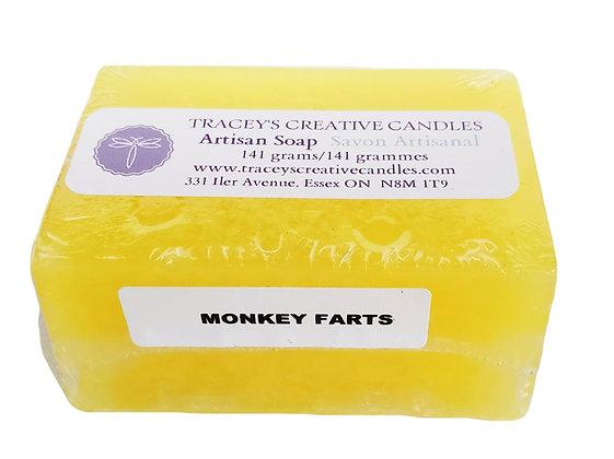 Monkey Farts Artisan Soap