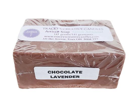 Chocolate Lavender Artisan Soap