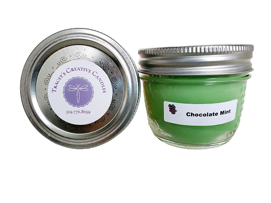 Chocolate Mint Candle - small