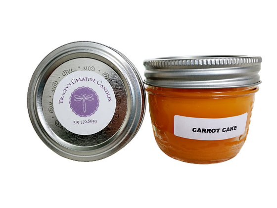 Carrot Cake Candle - small