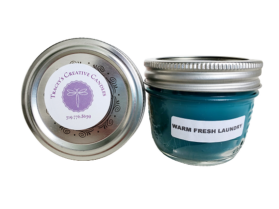 Warm Fresh Laundry Candle - small