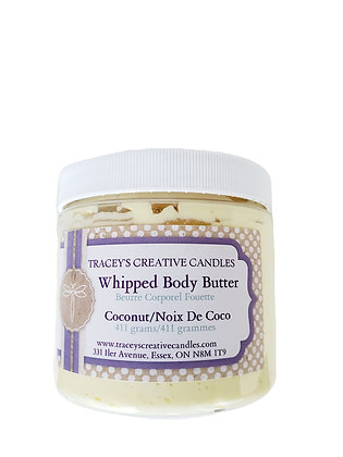 Coconut Whipped Body Butter - Large