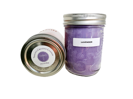 Lavender Candle - large