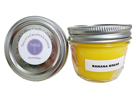 Banana Bread Candle - small