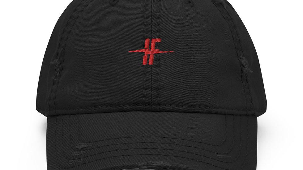 Insain Fitness Distressed Dad Hat
