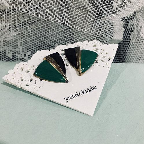 復古耳環 [耳夾款]
