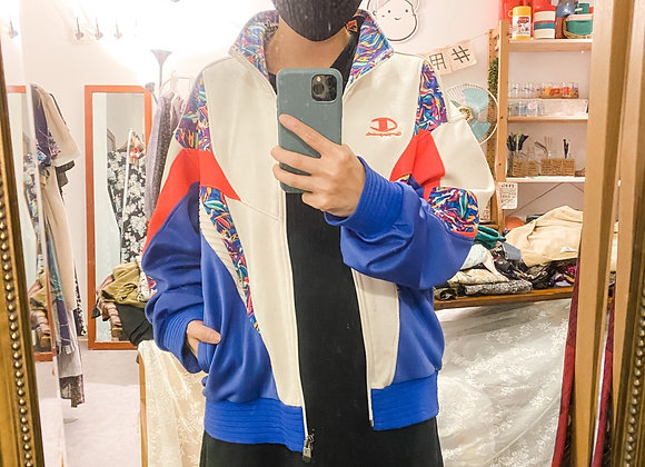 Champion紅白藍復古外套