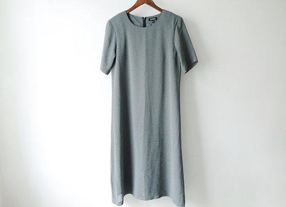 深灰短袖娃娃裙