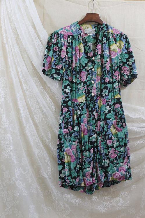 春夏blossom短袖連身短褲