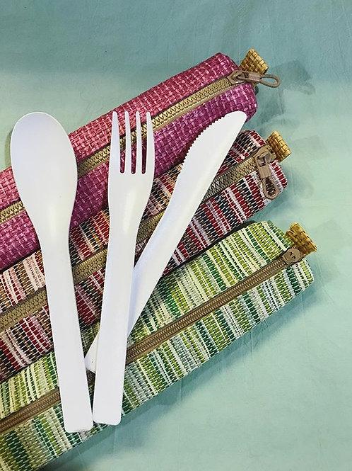 台灣紙布餐具袋