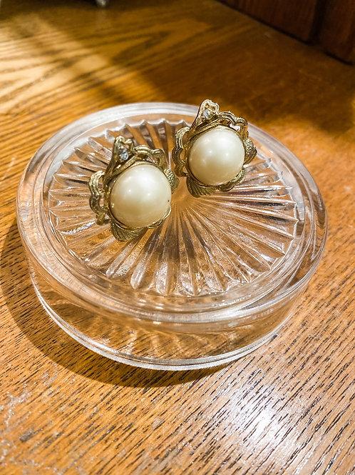 復古耳環[耳夾]