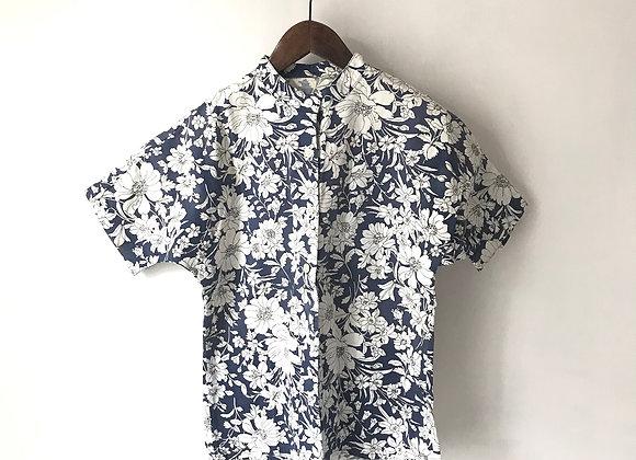 夏威夷企領短袖上衣