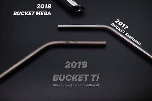 BUCKET Ti 純鈦飲管【連清潔刷】