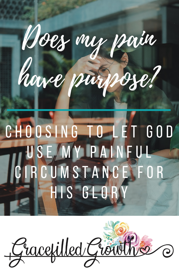 Finding purpose in your pain. Does my pain have a purpose? Special needs parenting.  How to find the purpose in my pain. Is God using me? Faith when I'm struggling. What's my purpose?