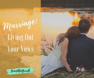 Are you living out your wedding vows in your marriage? Here are some great ideas on how you can!