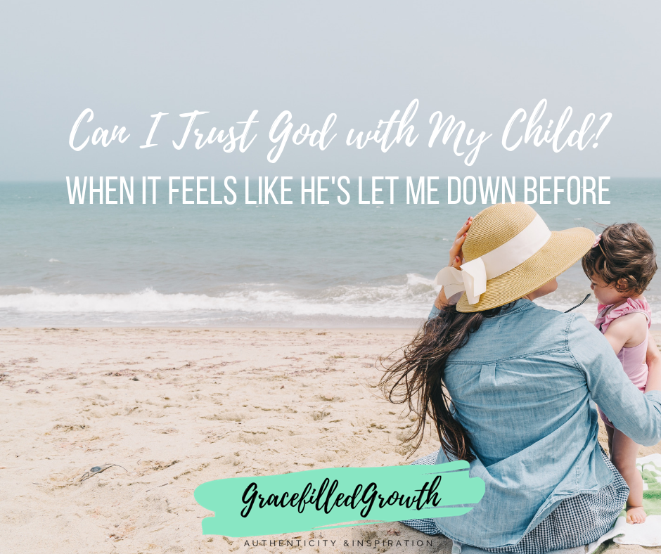Can I trust God with my child? Special Needs Parenting. Parenting a medically fragile child. Choosing surrender. Faith. How to trust God with your child.
