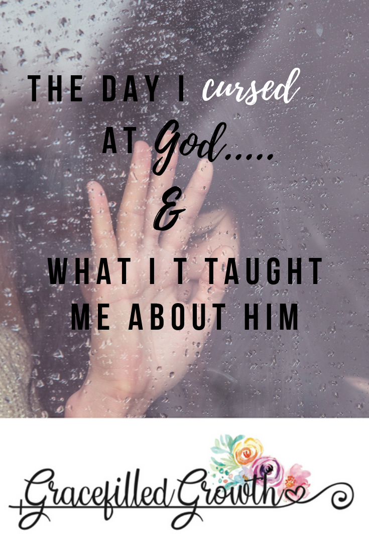 Have you ever wanted to walk away from God? Questioning God. Cursing at God. Unanswered prayers. God, where are you?
