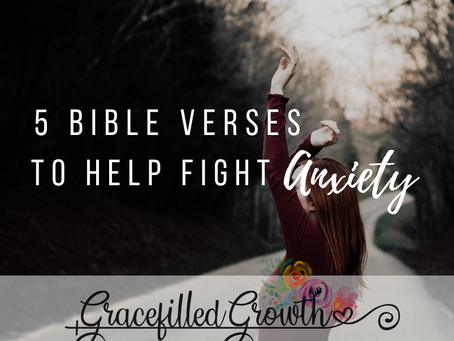 Bible Verses To help Anxiety