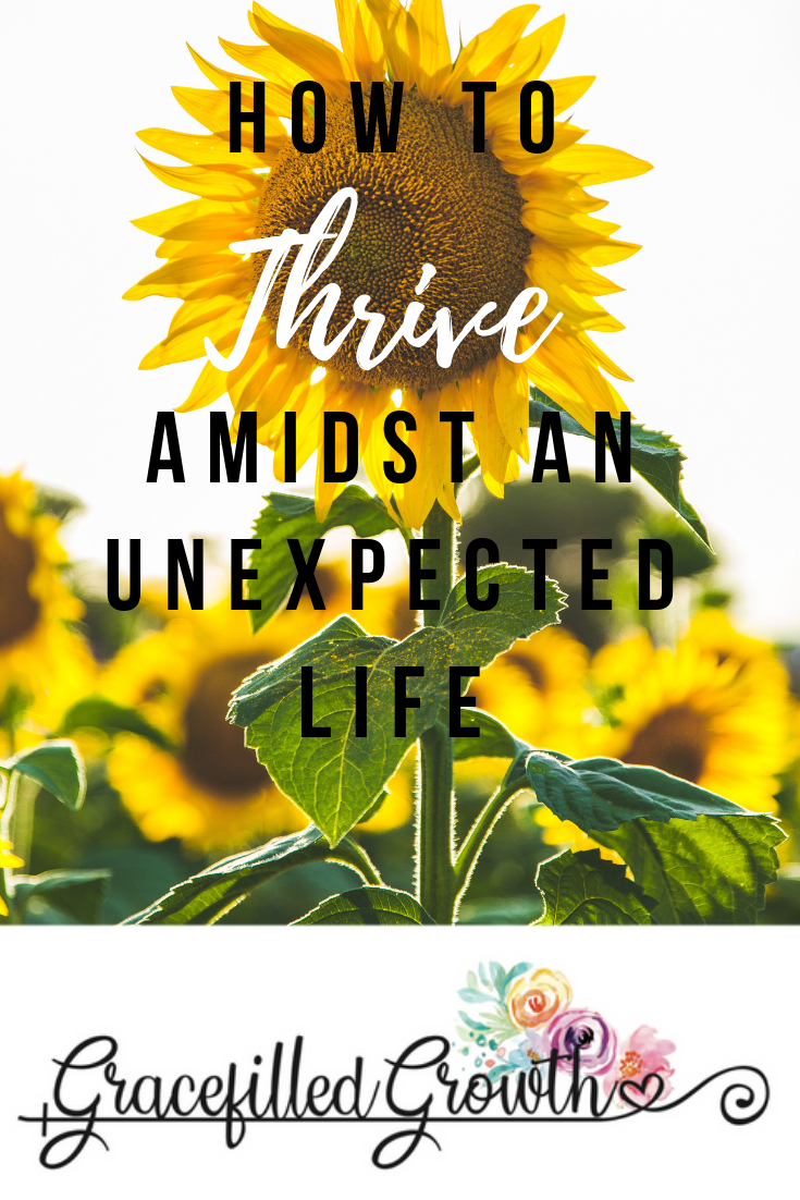 How to thrive. Unexpected life. Special Needs Parenting. Grief. Mourning the life you wanted.