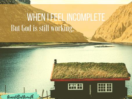 When I Feel Incomplete