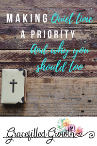 How to start a Bible study habit. Prioritizing quiet time. Spending time in the Bible. Why I'm making time with Jesus another thing on my to-so list. Forming  a Bible reading habit. Scripture.