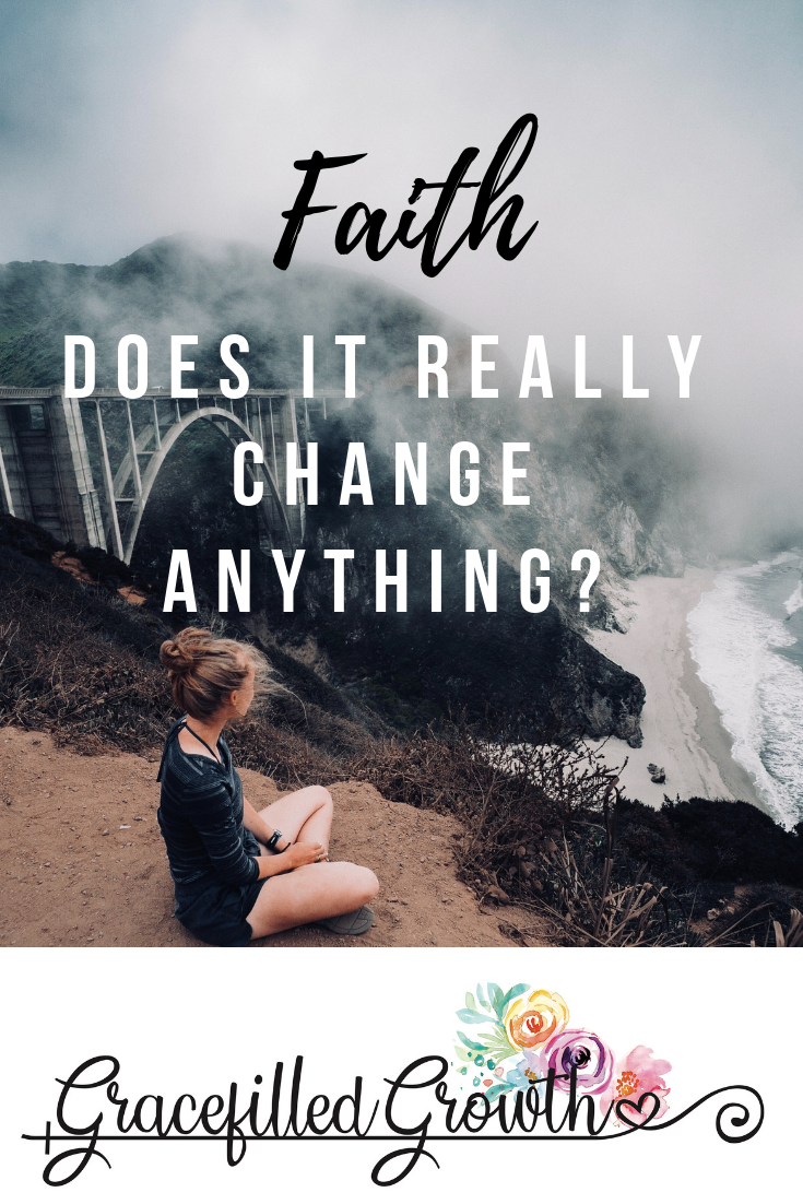 Faith. Just have faith. Unanswered prayers. Struggle. When my faith doesn't change my circumstance. Special Needs Parenting.