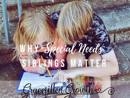 Why Special Needs Siblings Matter