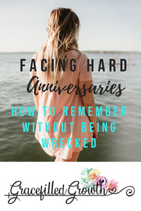 Special Needs Parenting. Parenting a medically fragile child. Mourning. The day that changed my life. Finding Joy on hard anniversaries. How to remember without being wrecked.