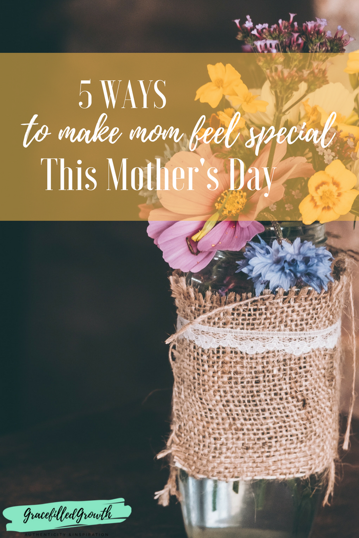 Want to know how to make your mom feel special this Mother's Day? Here are 5 fantastic ways to show your mom some extra love.