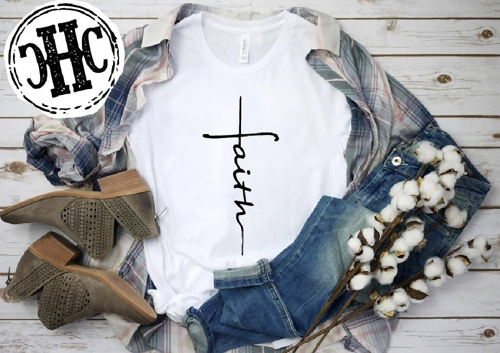gracefilledgrowth shop. Mundane motherhood. Faith shirt.
