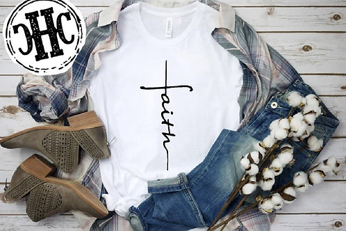 PLUS SIZE faith t-shirt