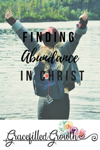 I have nothing left to give. I am running on empty. Feeling Empty. When I have nothing left to offer. How to find abundance in Christ. Living an abundant life.