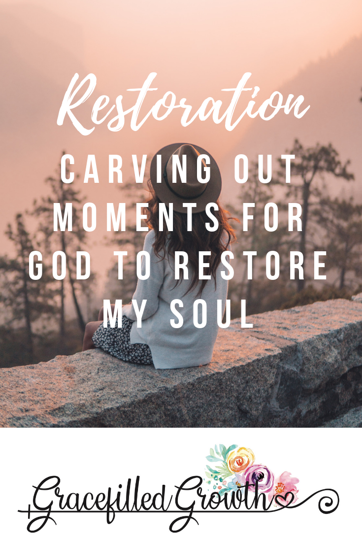 4 Ways to refresh your body, mind, and soul. Renewed spirit. Making time for God. Can God restore my soul? Finding renewal.