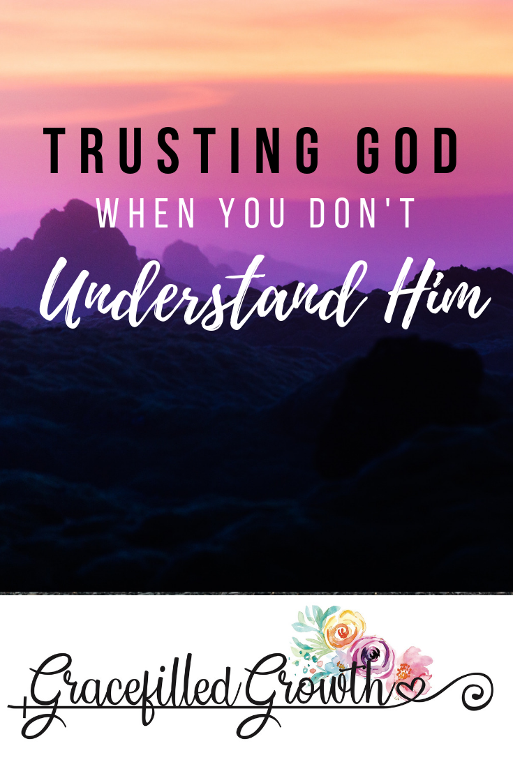 Trusting God when you don't understand. Where is God? Choosing faith amidst suffering. Why hasn't God healed my child?